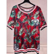 Shirt rood travel tropical