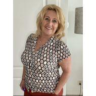 Tripple Nine blouse multi print travel