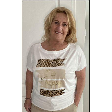 T shirt G ricieri Gold
